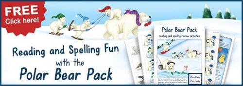 free polar bear printable pack