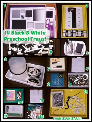14-black-white-color-preschool-trays