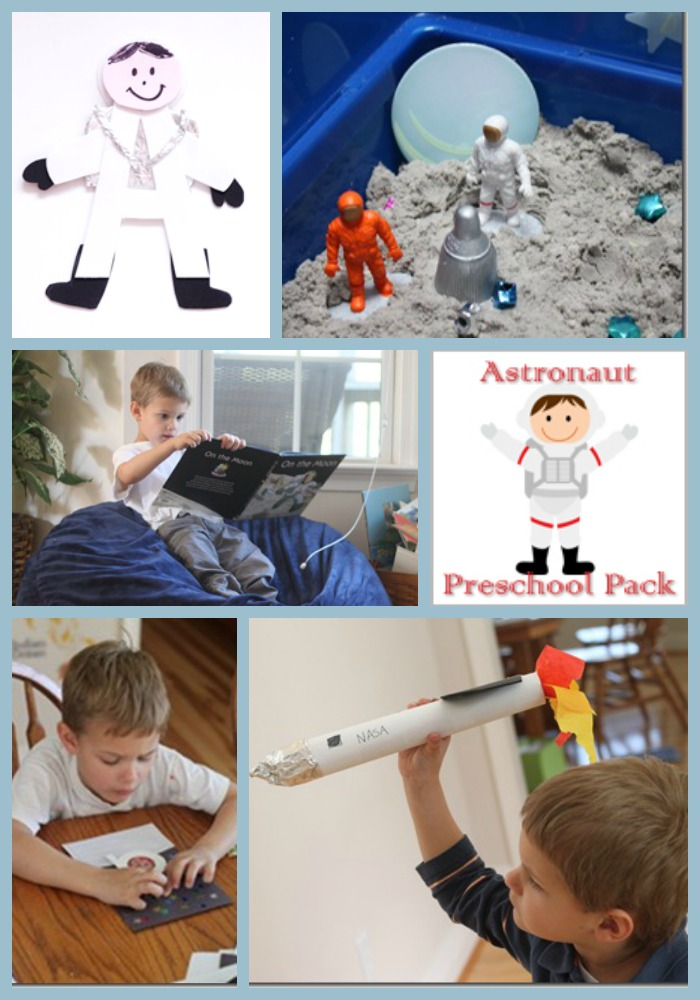 Astronaut Preschool Unit