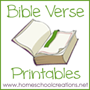 graphic regarding Free Printable Scripture Verses titled Preschool Bible Verse Printables ~ Training Gods Phrase