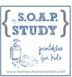 SOAP printables
