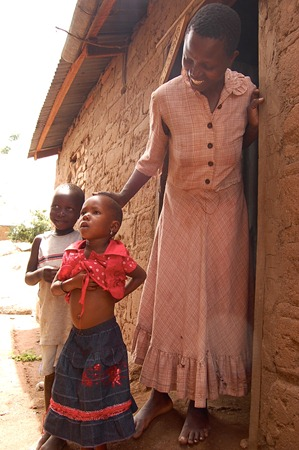 Compassion Day 2 Laticia at home