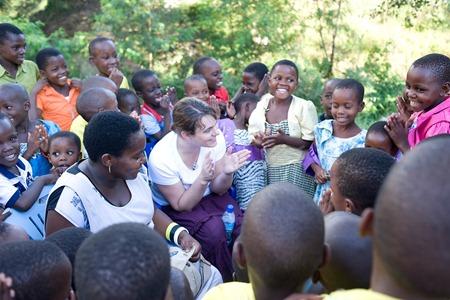 Compassion Tanzania kids singing