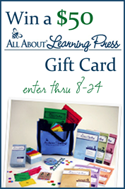 All About Learning Press Giveaway August 12