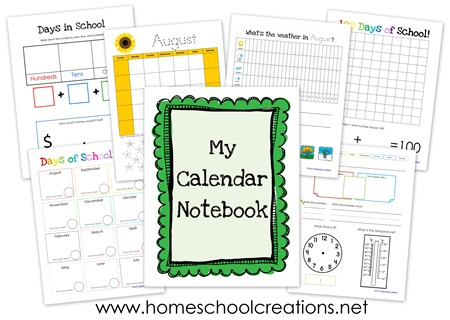 Calendar Notebook Binder