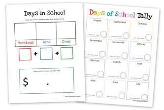 days in school tally