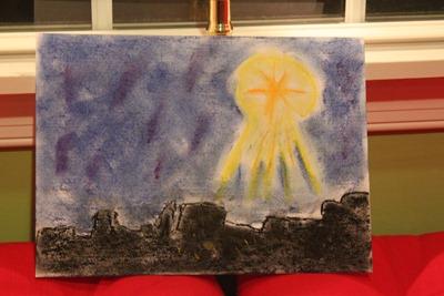Star of Bethlehem Chalk Pastel-9769