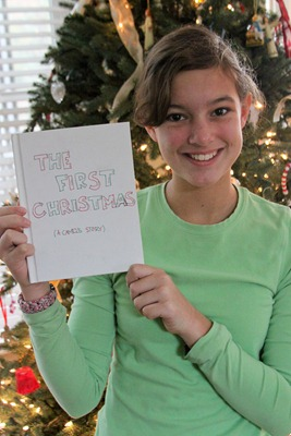 The First Chrismtas book-1