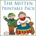 The Mitten Printable Pack - go along printables for The Mitten by Jan Brett from www.homeschoolcreations.net