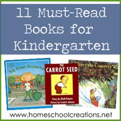 Eleven Must Read Books for Kindergarten