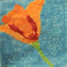 Poppy Art Collage-10yearold