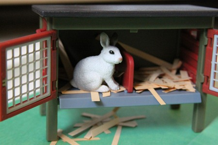 The Little Rabbit Sensory bin-1