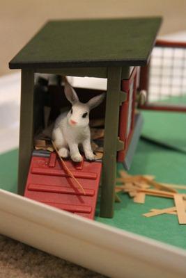 The Little Rabbit Sensory bin-4