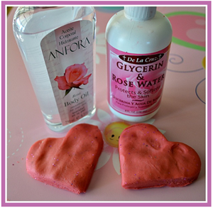 Rose Scented Playdough From Blog Me Mom U2013 How Yummy And Fun Would This Be  To Make Together?