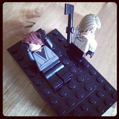 Abraham and Isaac Legos