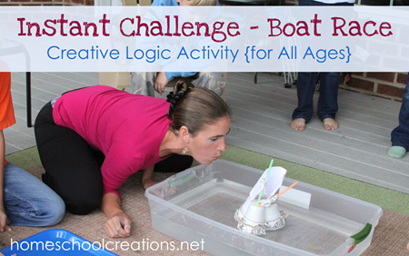 Boat Race Instant Challenge