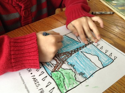 Learning about France with Madeline and Little Passports (7)