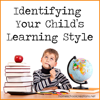 Identifying Children's Learning Styles copy