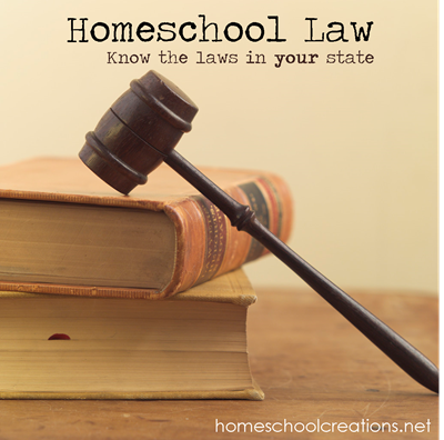 What are the homeschool laws in my state