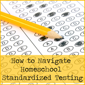 Homeschool Standardized Testing