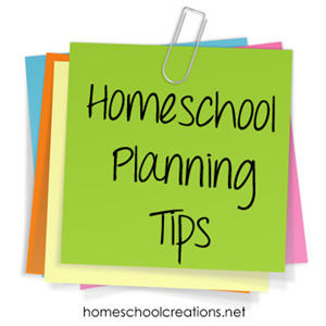 homeschool planning tips