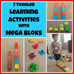 Learning Activities for Mega Bloks