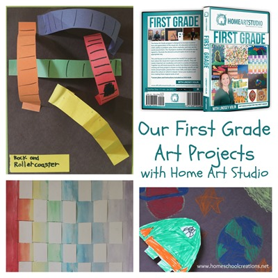 First Grade Art Projects with Home Art Studio
