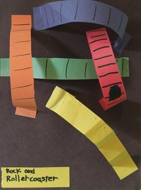 Paper Roller Coaster Home Art Studio