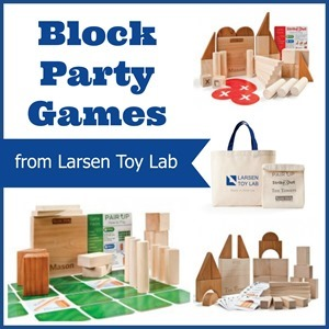 Block Party from Larsen Toy Lab