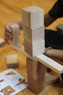 Building with Blocks from Larsen Toy Lab