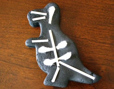 Homeschool Preschool - Dinosaur-Skeleton-
