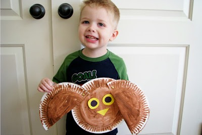 Homeschool Preschool - Owl Craft