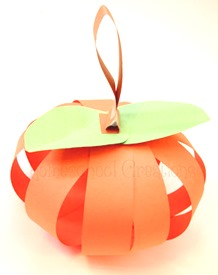 Homeschool Preschool - Pumpkin Craft