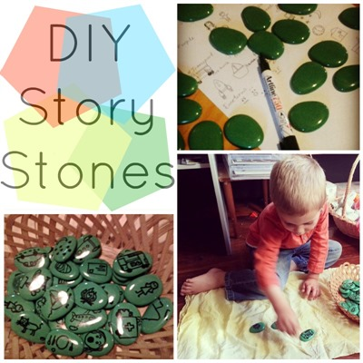 Homeschool Preschool - Story Stones