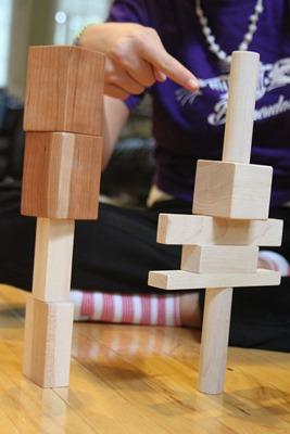 Pair Up Block Game from Larsen Toy Lab