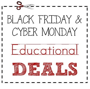 Black Friday Educational Deals 2013