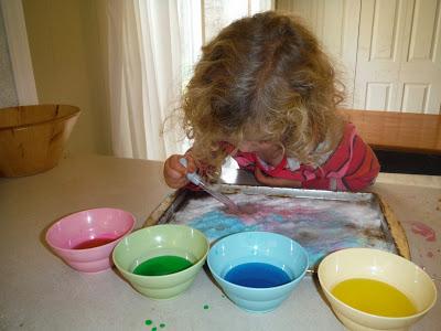 Homeschool Preschool - Kitchen science