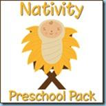 Christmas Printable - Nativity Preschool Pack