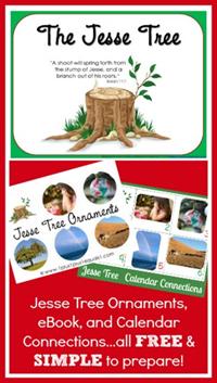 Christmas Printables - Jesse Tree