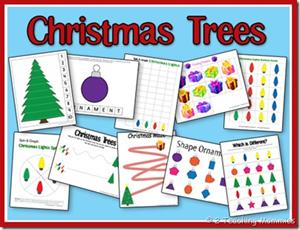 Christmas Printables - Christmas Trees
