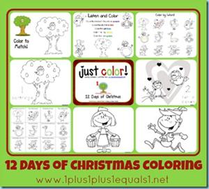 Christmas Printables - Christmas Coloring