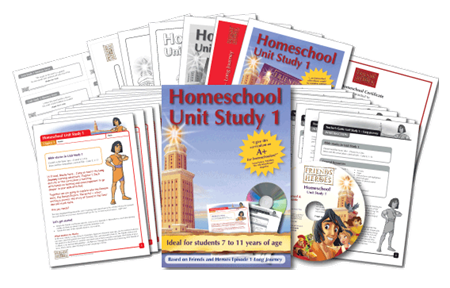 Friends and Heroes Homeschool Unit Study