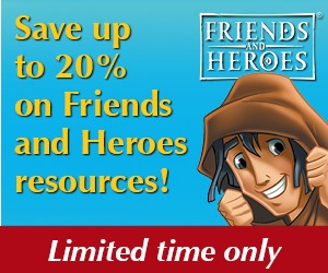 Friends and Heroes sale