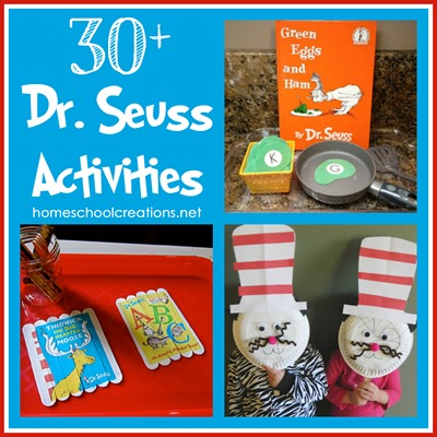 30+ Dr. Seuss Activities for Children - Preschool and Kindergarten ...