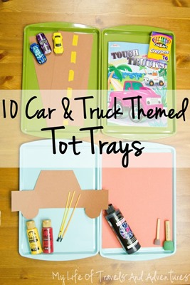 CarTruckAutomobileTotTrays