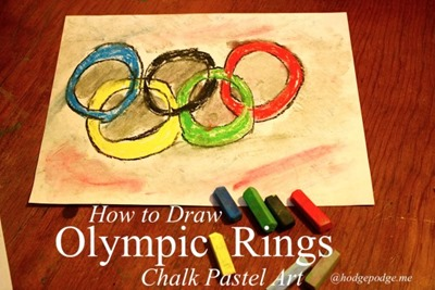 Olympic-Rings-Chalk-Pastel-Art-www.hodgepodge.me_-580x386