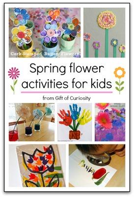 spring flower activities
