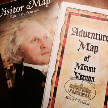 Adventure Map of Mount Vernon