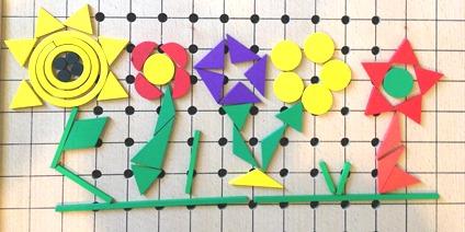 Spielgaben flowers