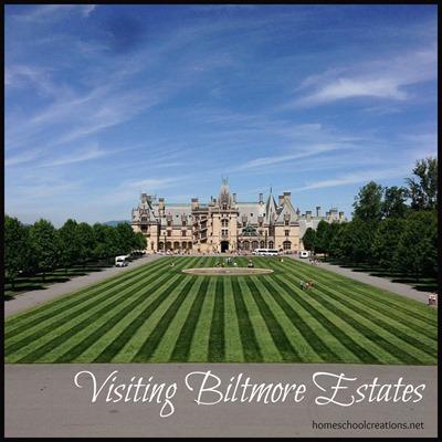 Visiting Biltmore Estates